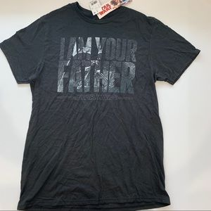 Star Wars Shirts - 🌿Star Wars men's black T-shirt